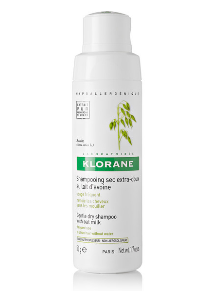 Klorane Dry Shampoo With Oat Milk Non-Aerosol