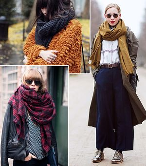 Scarf Inspiration To Get You Through The Season