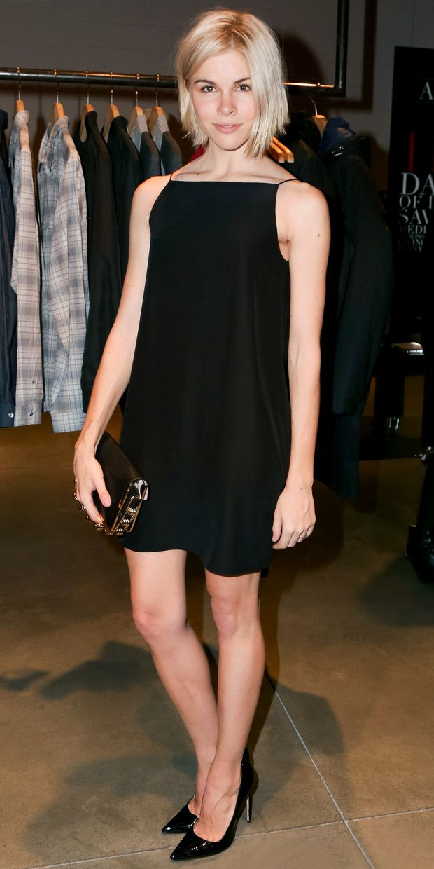 Emily Weiss Celebrates (Red) At Theory In NYC.