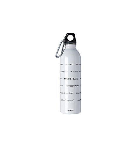 Yoko Ono   Yoko Ono Imagine Peace Stainless Steel Water Bottle