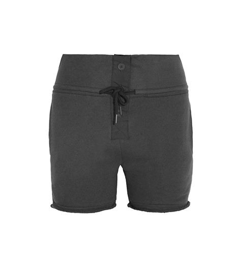 T By Alexander Wang  T By Alexander Wang Cotton French Terry Shorts