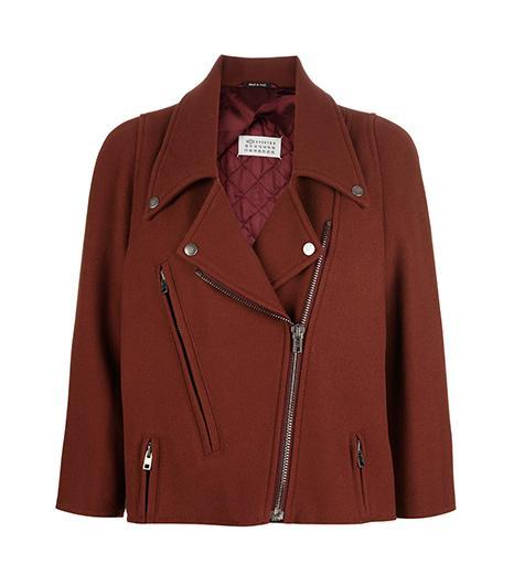 Maison Martin Margiela Wool Biker Jacket ($1201)