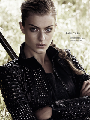 Sleek And Modern Punk-Inspired Looks From ELLE Sweden