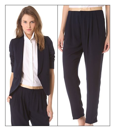 Band Of Outsiders Band of Outsiders Cabrini Suiting Blazer