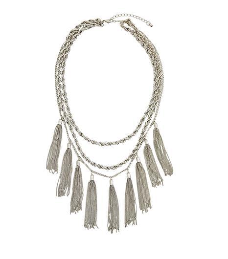 Nasty Gal Tahiti Tassel Necklace