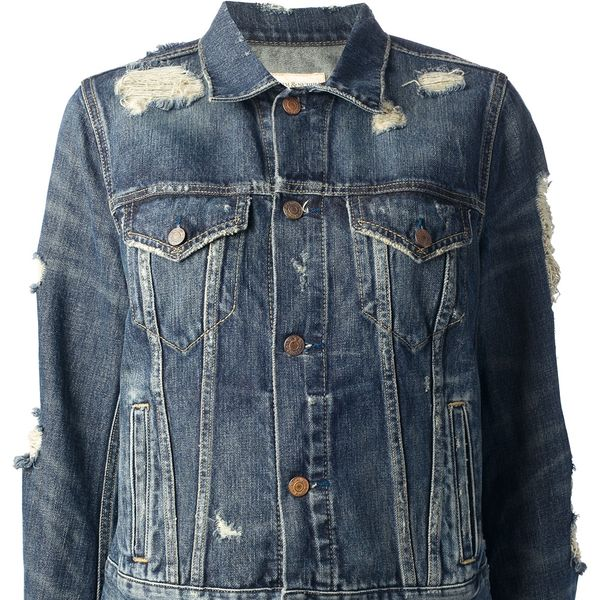 Ralph Lauren Denim and Supply Ralph Lauren Denim and Supply Distressed Denim Jacket
