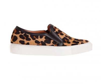 Anaconda Leopard Sneakers  Sandro