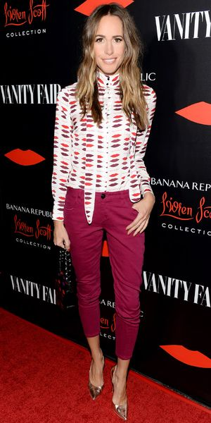Louise Roe Celebrates Banana Republic L'Wren Scott Collection.
