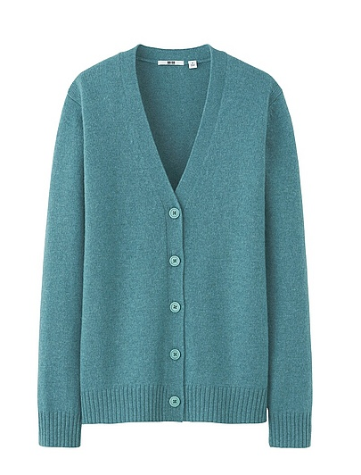Uniqlo  Alpaca Blend V Neck Cardigan