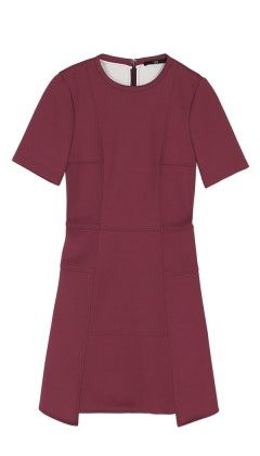 Tibi  Bonded Techno Knit Dress