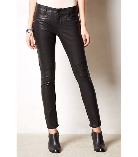 Anthropologie Anthropologie Pilcro Serif Vegan Leather Leggings