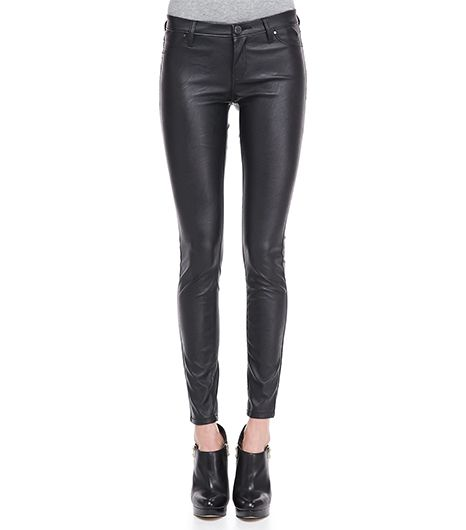 Blank Blank Vegan-Leather Ankle Leggings