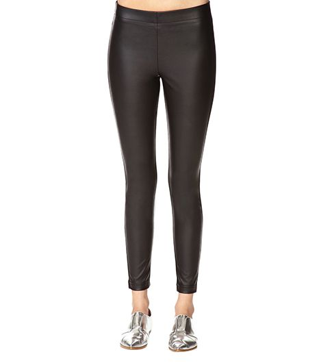 Forever 21 Forever 21 Bombshell Faux Leather Leggings