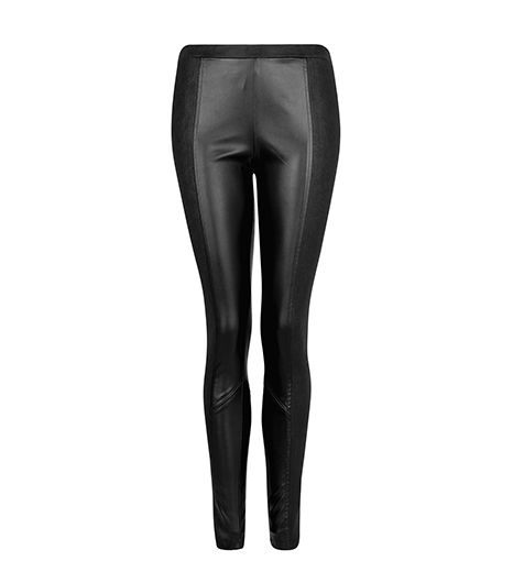 Mango Mango Faux Leather Leggings
