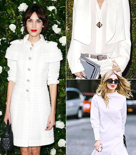 Inspiring Ways To Wear White This Winter