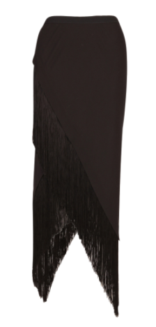 Willow  Angle Cut Fringe Skirt