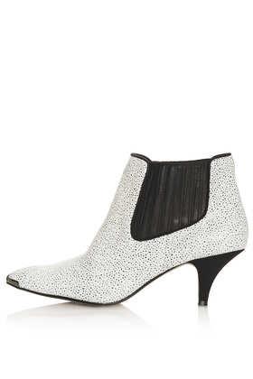 Topshop  Albertina Kitten Heel Boots