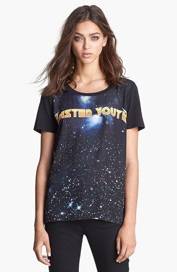 The Kooples  Wasted Youth Graph T-Shirt