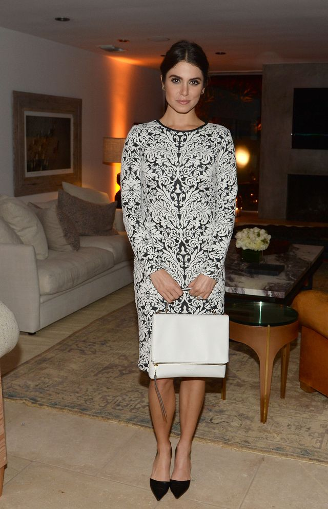 Nikki Reed Looks Chic At Coach Event In Los Angeles.