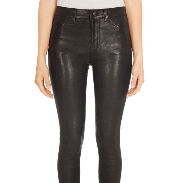 J Brand 620 Super Skinny in Diffused Gold