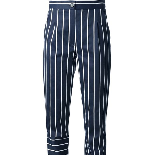 Jacquemus  Contrast Mixed Stripe Trousers