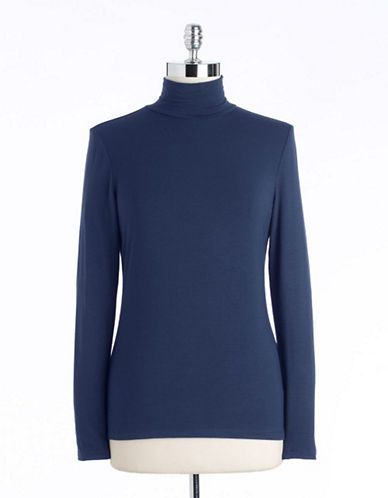 Lord & Taylor  Mock Neck Top
