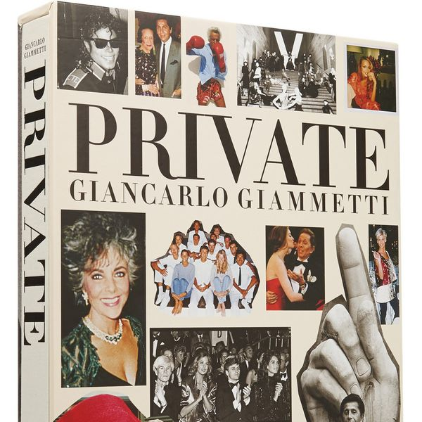 Assouline Private Giancarlo Giammetti by Giancarlo Giammetti Hardcover Book