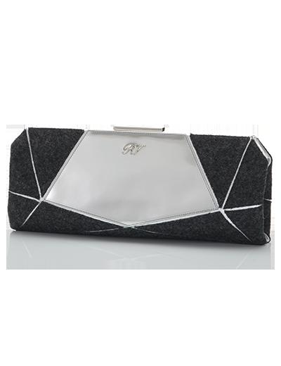 Roger Vivier  Prismick Miroir Clutch Bag
