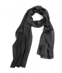 Echo  Solid Oversized Silk Scarf