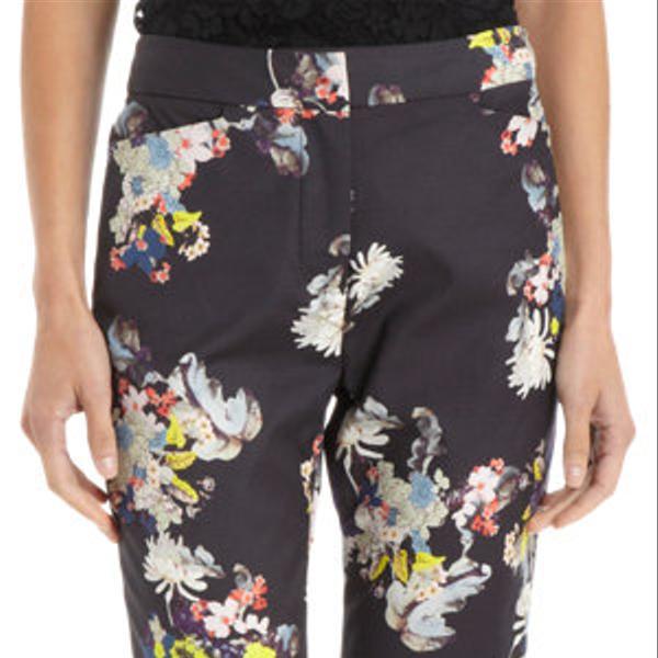 Erdem  Floral Print Slim Pants
