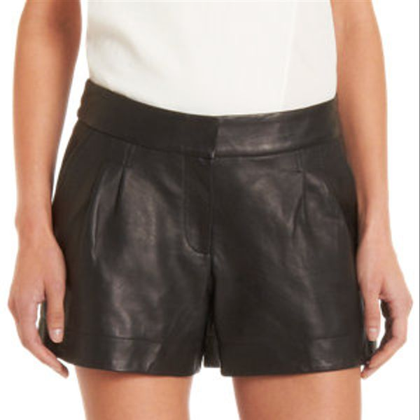 Twelfth Street by Cynthia Vincent  Leather Shorts