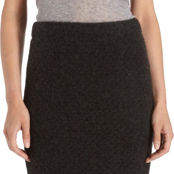 The Elder Statesman   The Elder Statesman Honeycomb Pencil Skirt ($740)