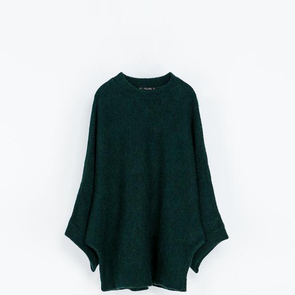 Zara Zara Poncho Sweater