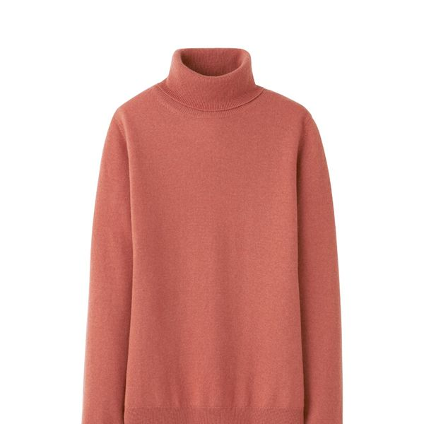 Uniqlo  Uniqlo Women Cashmere Turtle Neck Sweater
