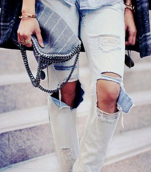 10 Ways To Wear Distressed Denim Now