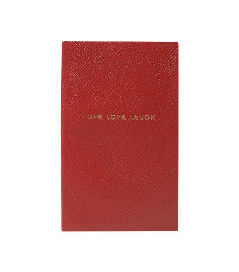 SMYTHSON SMYTHSON Red Notebook