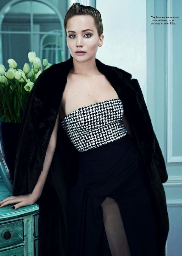 Jennifer Lawrence Is The Epitome Of Elegance In Dior Looks For ELLE France