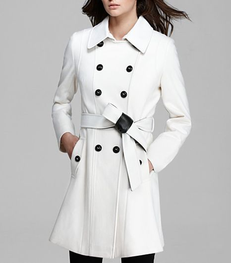 DKNY  DKNY Double Breasted Trench Coat