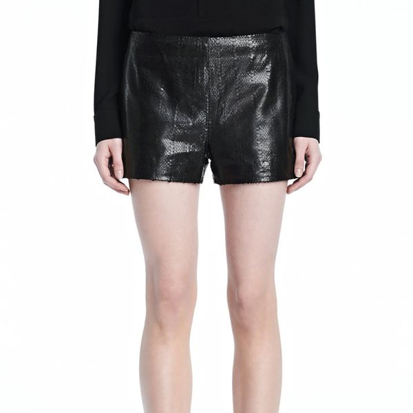 J Brand Tullia Leather Short