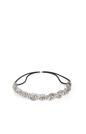 BCBGMAXAZRIA  Braided-Chain Elastic Headband