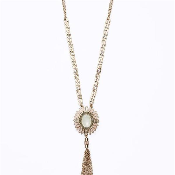 Ann Taylor  Parlour Tassel Pendant Necklace