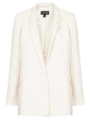 Topshop  Tailored Long Line Blazer
