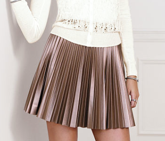 Victoria's Secret  Pleated Mini Skirt