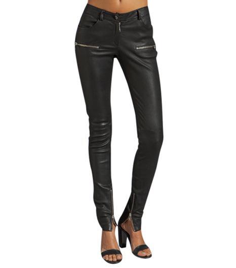 Anine Bing  Anine Bing Leather Skinny Pant