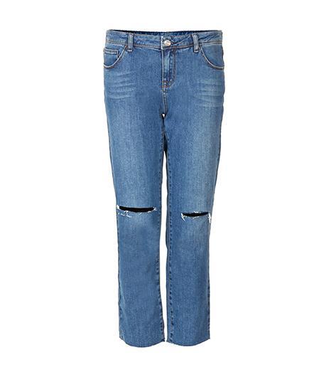 Topshop Vintage Loose Fit Ankle Grazer Jeans