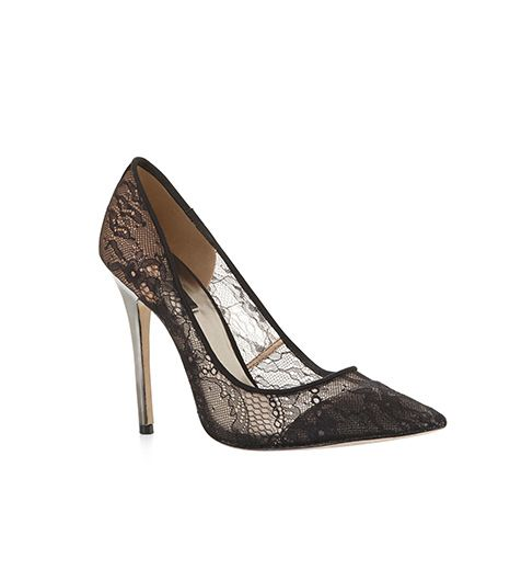 BCBG BCBG Opia Lace High-Heel Pump