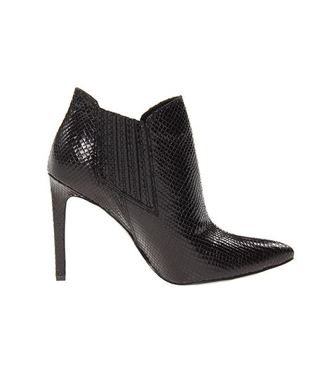 Guess Guess Vacla Pointed-Toe Leather Booties
