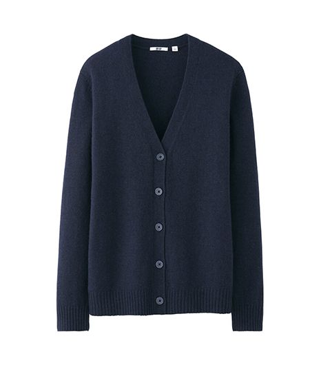 Uniqlo Women's Alpaca Blend V Neck Cardigan