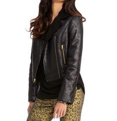 Rachel Rachel Roy  Shearling Jacket
