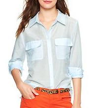 Gap Printed Camp Shirt
